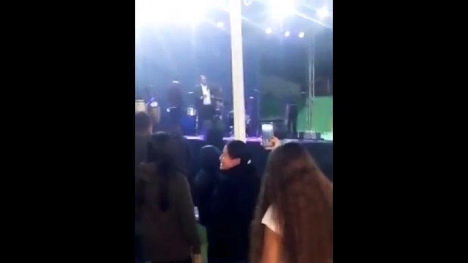 Vivan los culeros que no invitaron: exclamó #PresidenteChupitos durante el grito en San Andrés (VIDEO)