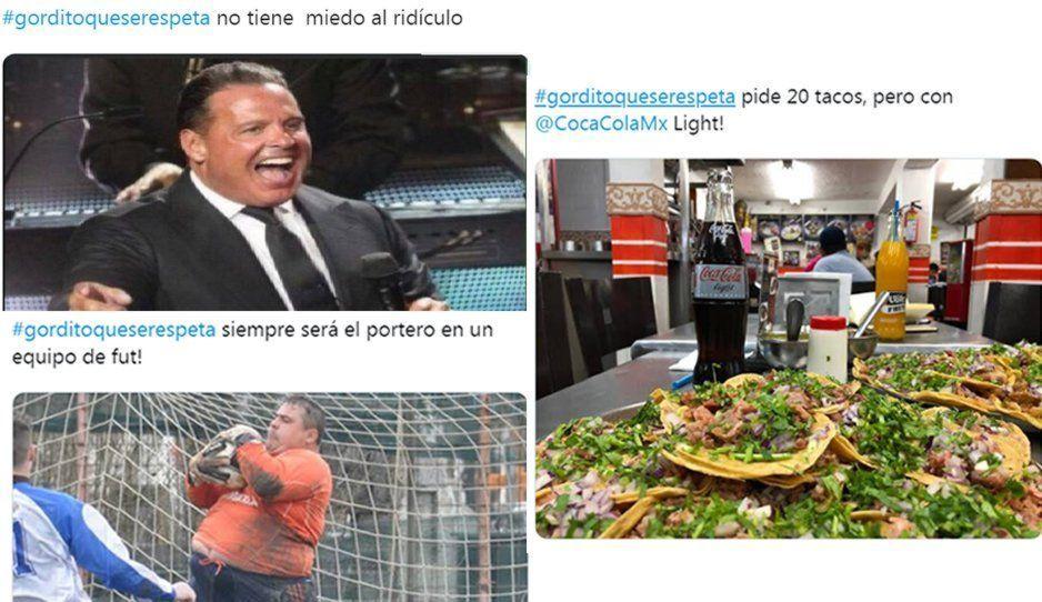 Tendencias: los mejores memes de un #GorditoQueSeRespeta