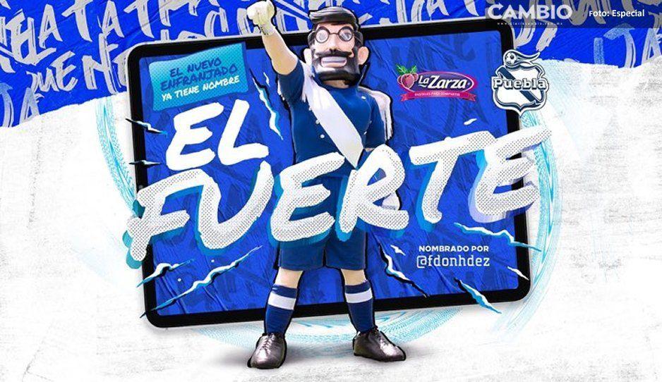 El Fuerte, es el nuevo nombre de la mascota del Club Puebla que se parece al Che Guevara