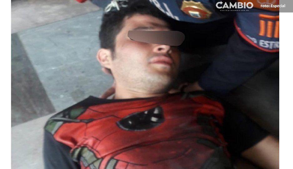 ¡Esto es destino! Intenta suicidarse en Metro Pantitlán, lo vuelva a intentar en Ermita ¡vuelve a fallar!