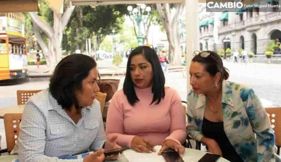 Colectivo Carmen Serdán y la Universidades Tecnológicas de Puebla y Tecamachalco se unen contra la violencia de genero