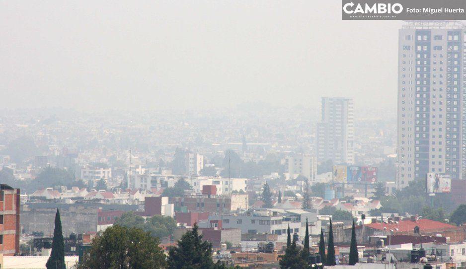 El récord histórico de contaminación en Puebla es por el aumento de autos