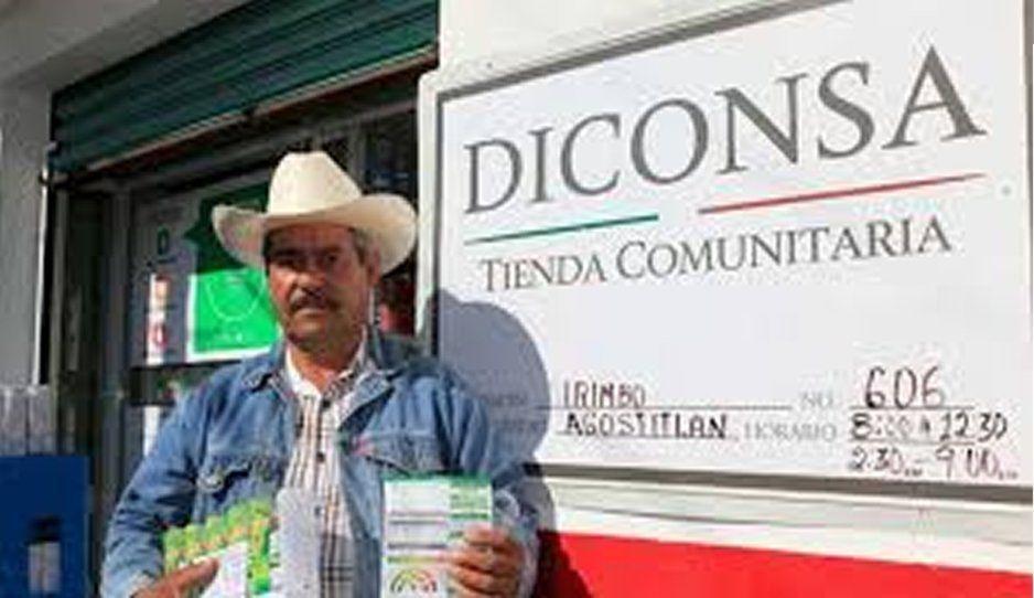 Comuna integrará tiendas Diconsa al programa Mi Tiendita