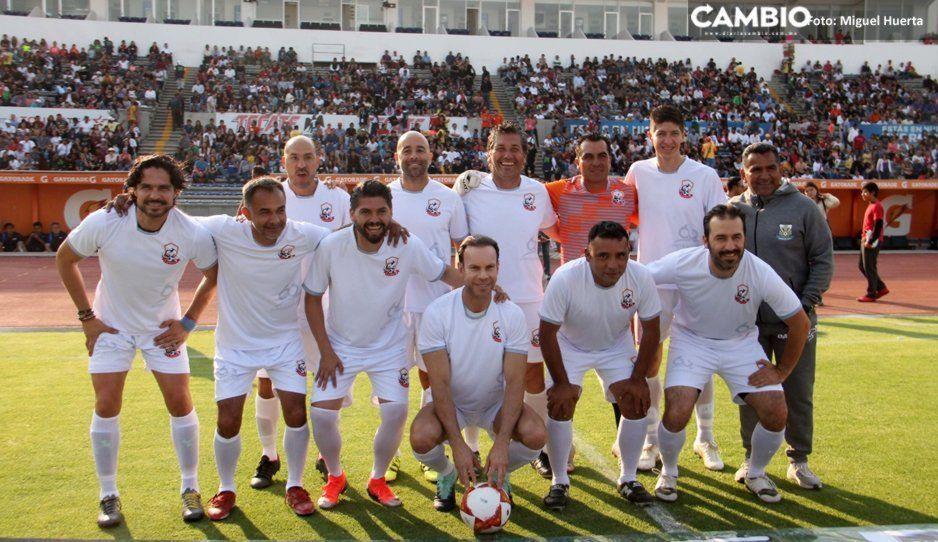 Equipo de Zague, Braulio Luna y Sinha golea 7-2 a Administración BUAP (VIDEOS)