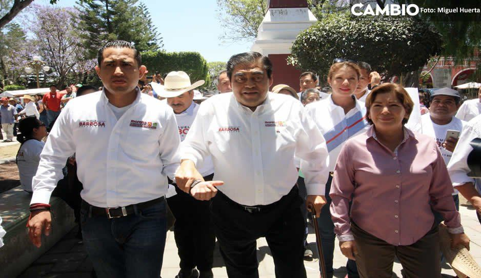 Barbosa presenta saneamiento del Atoyac y pide a Armenta no ensuciar su campaña