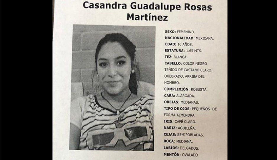 Casandra Guadalupe de 16 años desapareció en Loma Linda ¡Ayúdanos a localizarla!