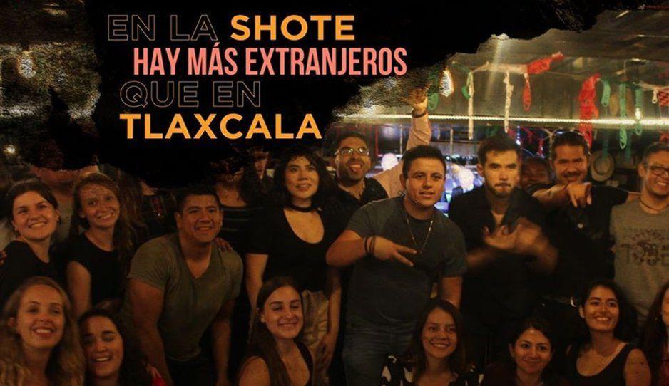 Barsucho de Cholula se burla de tlaxcaltecas: En La Shoteria hay más extranjeros que en Tlaxcala
