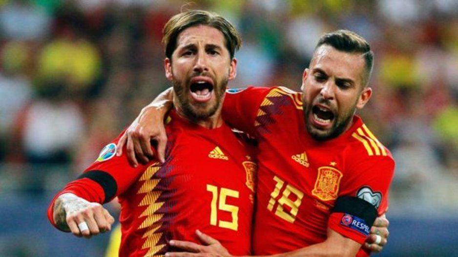 Gana España por primera vez en Rumania y dedica triunfo a Luis Enrique (VIDEO)