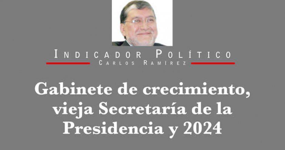 Gabinete de crecimiento, vieja Secretaría de la Presidencia y 2024