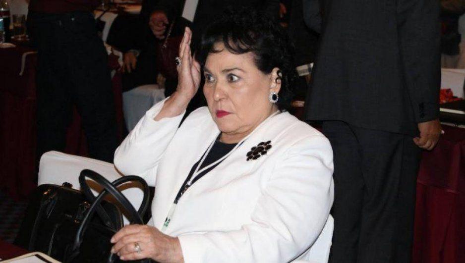 Enrique Guzmán insulta a Carmen Salinas por ofrecer amor de madre a Frida Sofía (VIDEO)