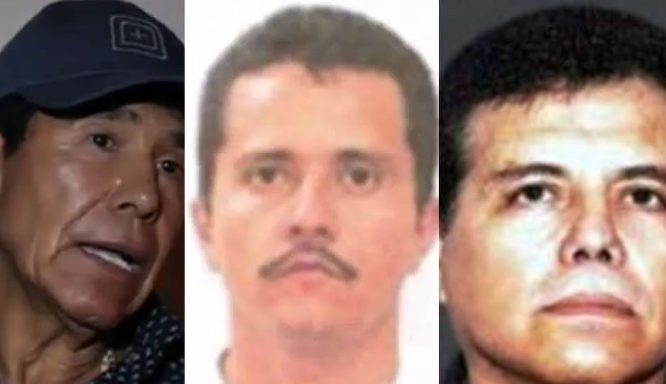 Con la detención del Chapo, El Mencho, El Mayo y Caro Quintero se convierten en los reyes del narco mexicano