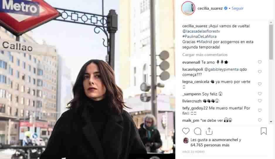 La Casa de las Flores arranca su segunda temporada en Madrid