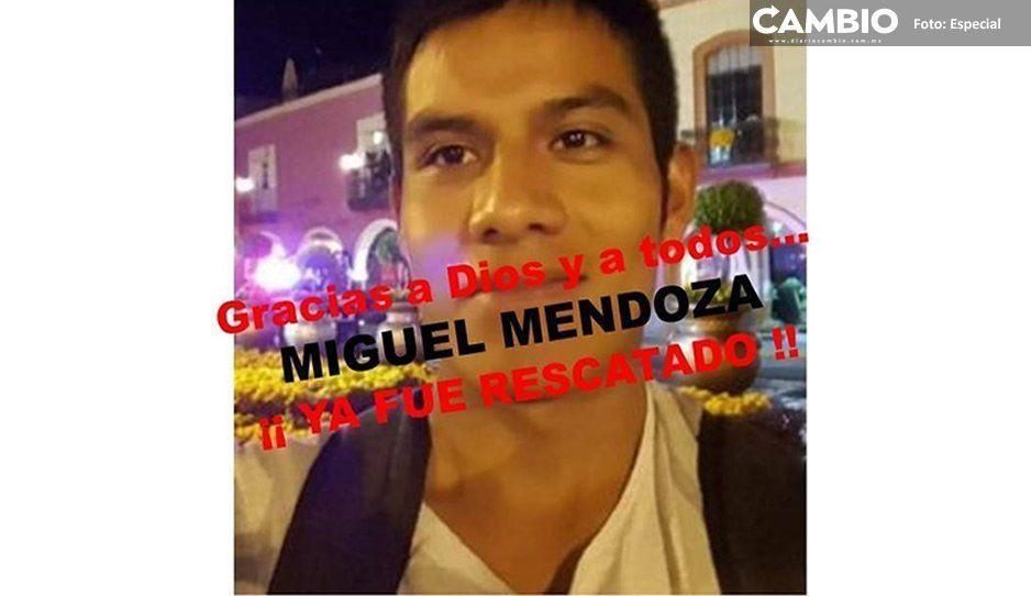 Joven seminarista aparece tras ser secuestrado en Atzitzihuacán
