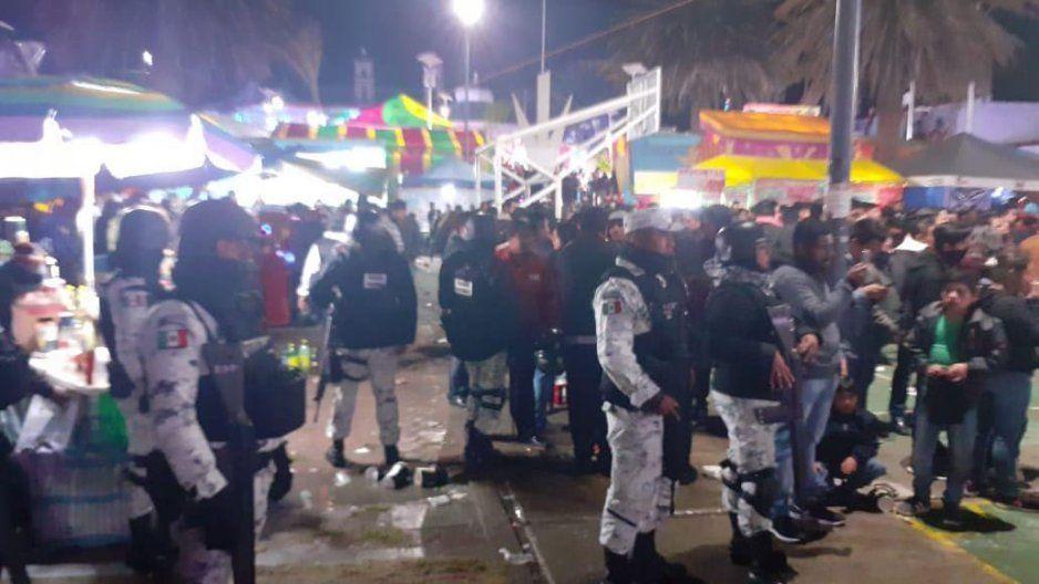 Feria de Chachapa contará con dispositivo de seguridad: comisario de Amozoc