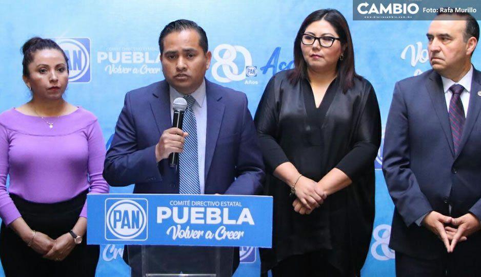 Panistas de Tehuacán piden al Congreso agilizar la desaparición del Ayuntamiento ante ingobernabilidad