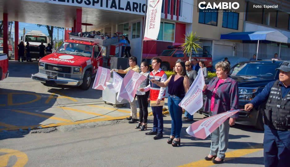 Alcaldesa Norma Layón inicia con Operativo Guadalupe-Reyes en San Martín Texmelucan