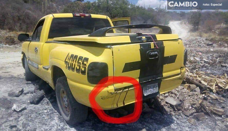 Encuentran encajuelados y con el tiro de gracia a dos hombres en Zacapala
