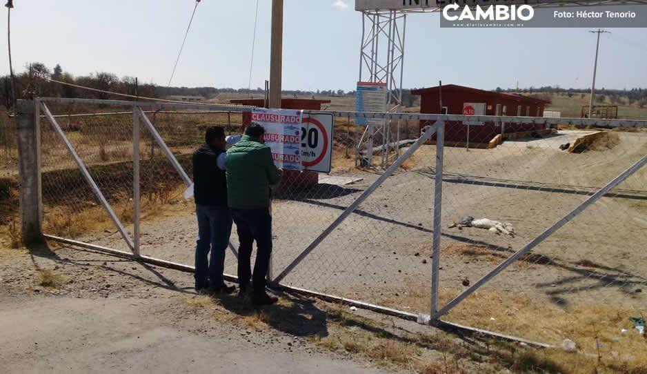 Vuelven a clausurar relleno sanitario de Huejotzingo