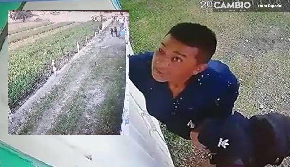 Sujetos intentan entrar a domicilio para robar en Texmelucan