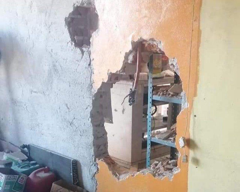 Ratas hacen tremendo boquete para vaciar refaccionaria en San Pedro Cholula (VIDEO)
