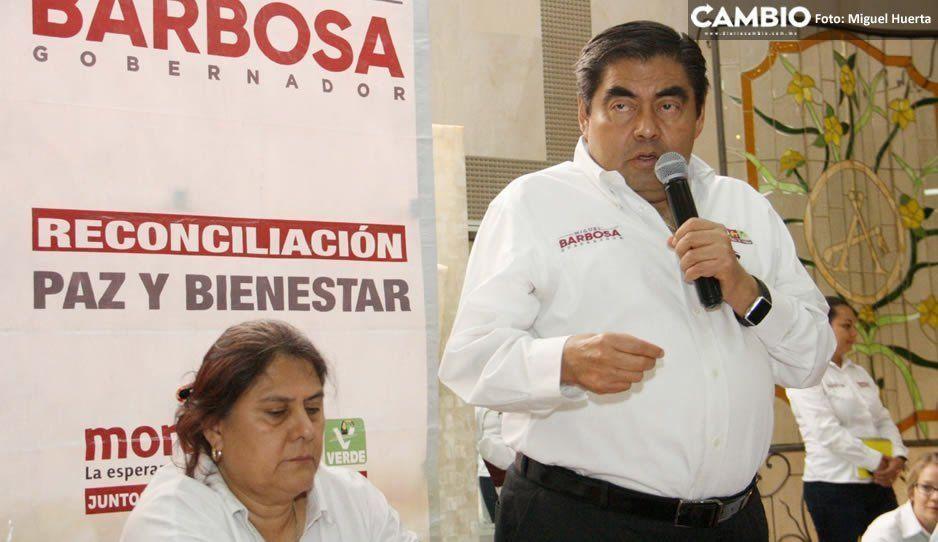 Afirma Barbosa que alerta de género no ha servido para nada: falta una Fiscalía de Género y activar protocolos (VIDEO)