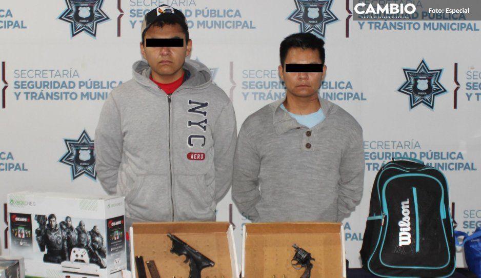 Detienen a ratas que atracaron Coppel Vista Hermosa; llevaban 60 celulares