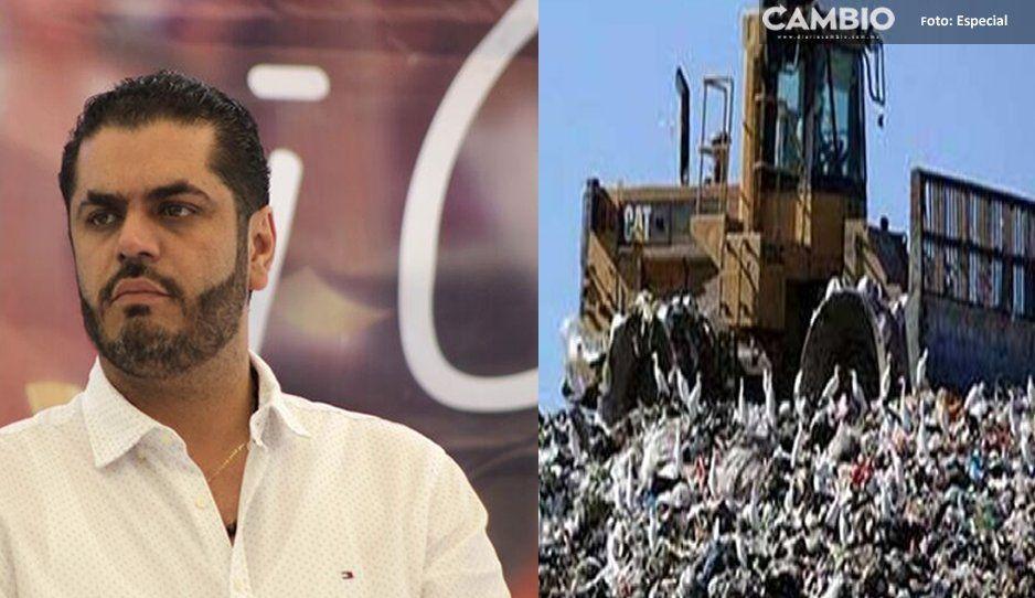 ¡El colmo! Director de Limpia de Tehuacán contrató a su propia empresa para recolectar basura