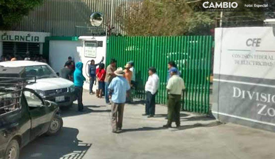Pérdidas de hasta el 20% en empresas de Tehuacán por aumento de CFE en las tarifas