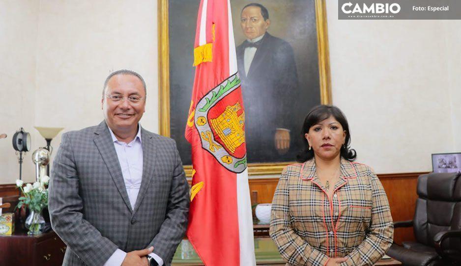 Estrecha Atlixco lazos con la ciudad de Tlaxcala mediante firma de convenio turístico