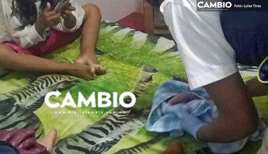 Lo que callamos en Coronango: Jovencita no aguanta más y da a luz en el baño de su casa
