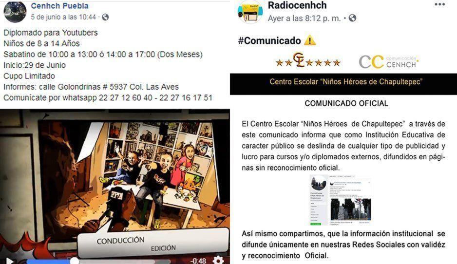 Fraude utilizando nombre del CENHCH: lanzan Diplomado para Youtubers