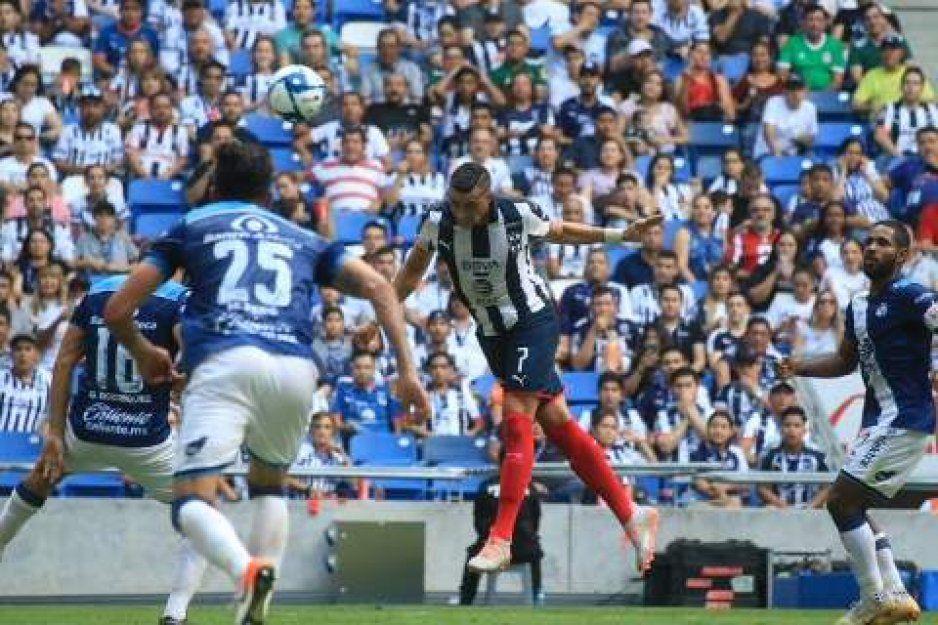 Puebla lo intentó, pero no pudo remontar, cae 3-2 en su visita a Monterrey
