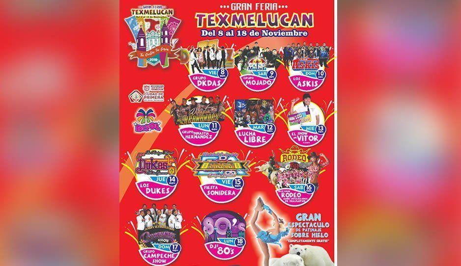 Invitan a la Gran Feria de San Martín Texmelucan del 8 al 18 de noviembre