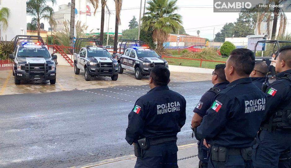 Fortalecen Seguridad Pública municipal  de Cuautlancingo con 18 nuevos policías