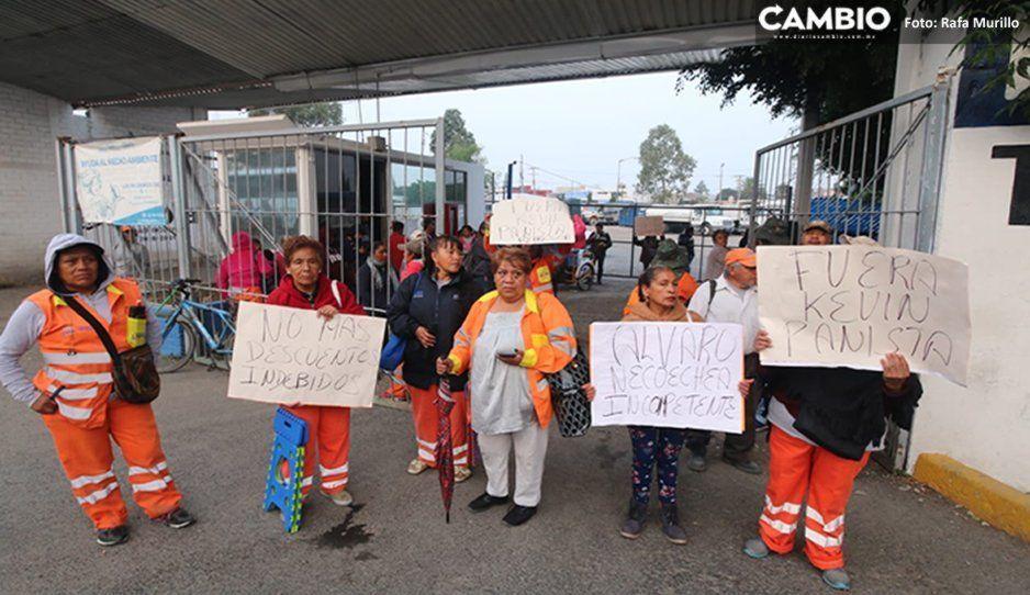 Naranjitas protestan por despidos injustificados y exigen destitución de directivos