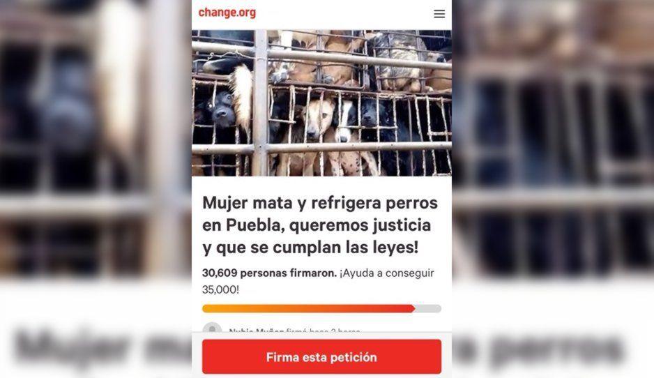 35 mil poblanos piden a Barbosa que castigue a la Comeperros de Bosques
