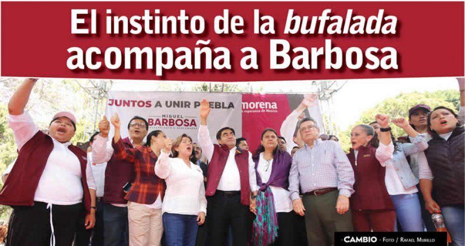 CRÓNICA: El instinto de la bufalada acompaña a Barbosa (FOTOS y VIDEOS)