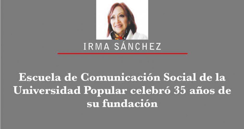 Escuela de Comunicación Social de la Universidad Popular celebró 35 años de su fundación