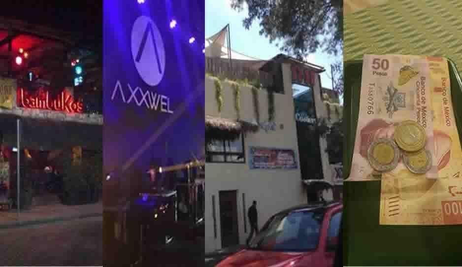 """Bambukos, Axxwel y Costera, entre los bares de Puebla que cobran """"a fuerza"""" la propina"""