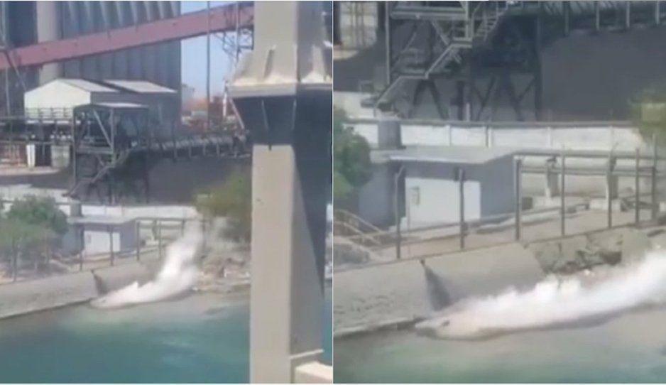 Grupo México derrama 3 mil litros de ácido sulfúrico en el mar de Sonora (VIDEO)