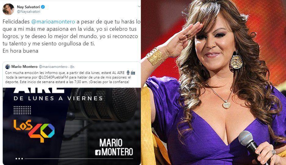 Nay Salvatori en modo La Gran Señora saca su dolor vs Mario Montero: yo sí celebro tus logros