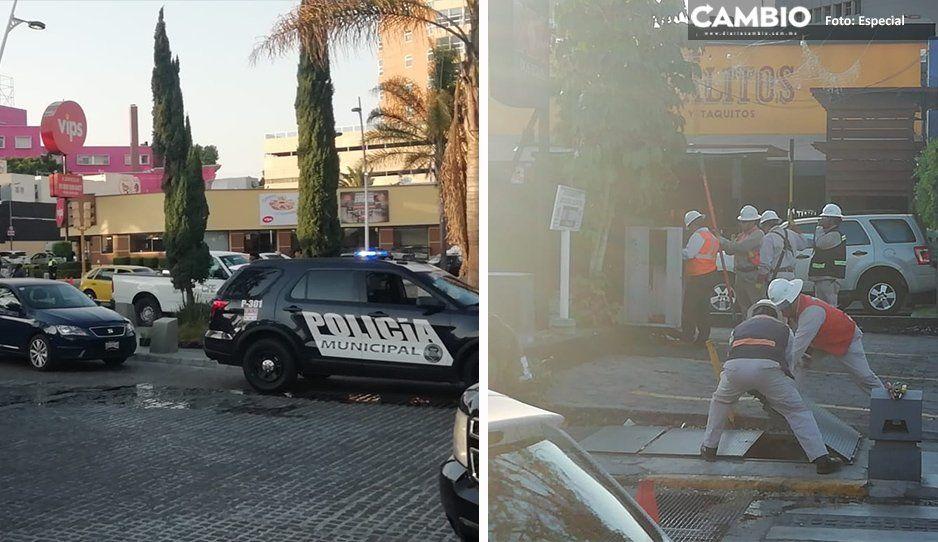 ¡Apagón en la Avenida Juárez! Restaurantes y bares se quedan sin luz