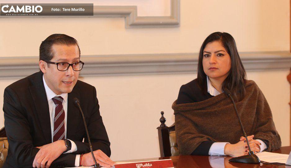 Claudia Rivera evade responder si apoyará candidatura de Barbosa