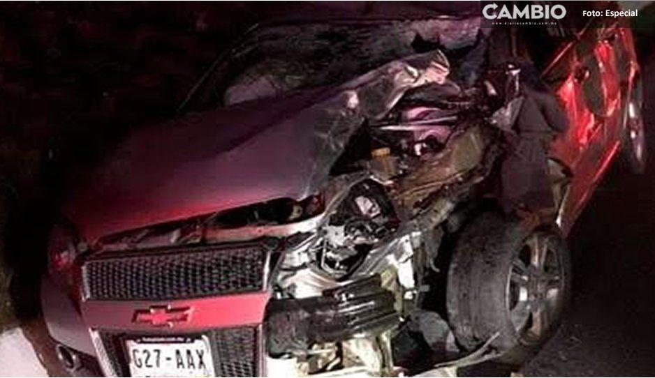 Por ayudar a un compañero, mueren tres traileros en la autopista a Puebla-Teziutlán