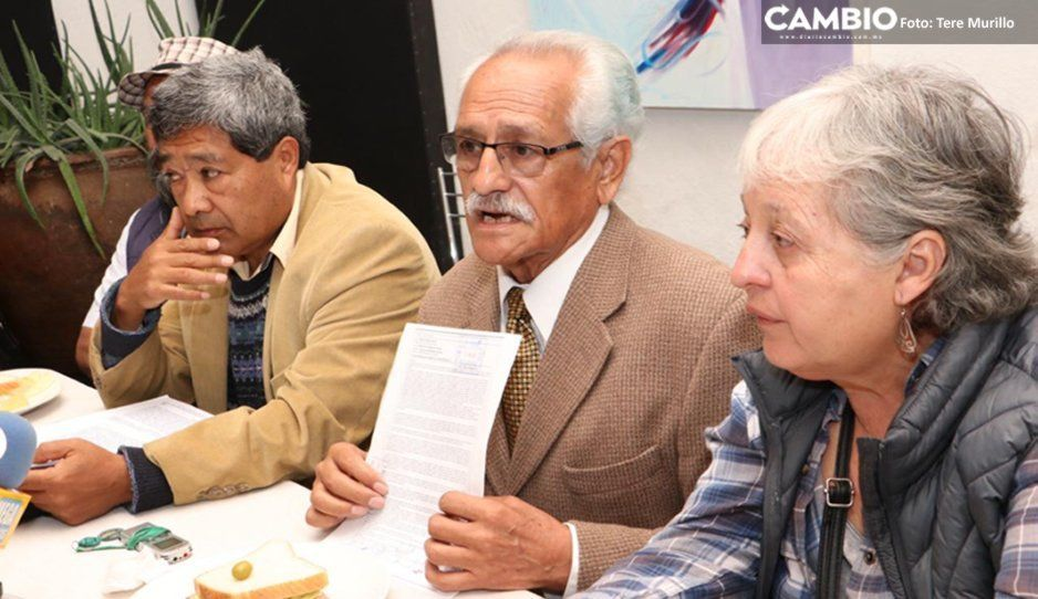 Jubilados exigen a Esparza transparentar recursos de la BUAP