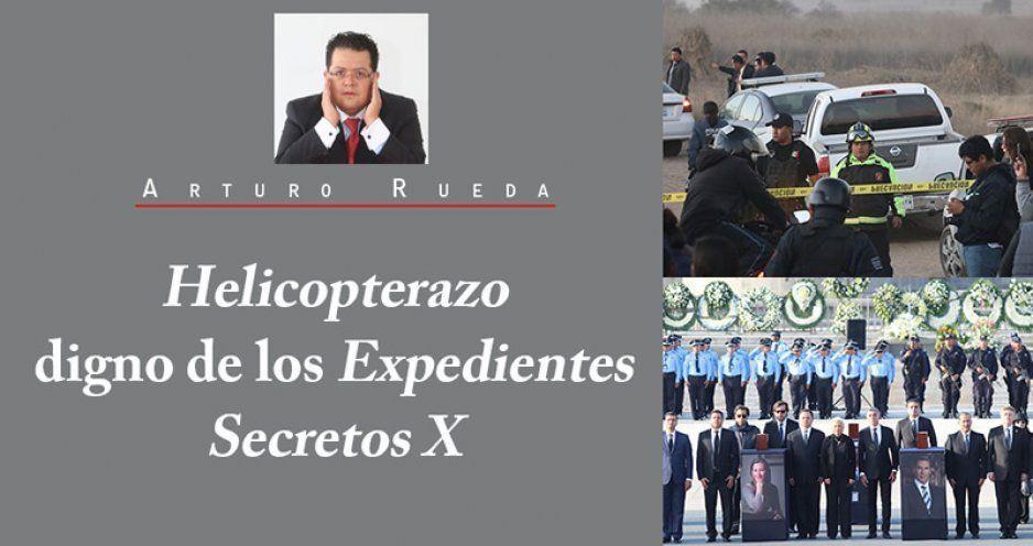 Helicopterazo digno de los Expedientes Secretos X