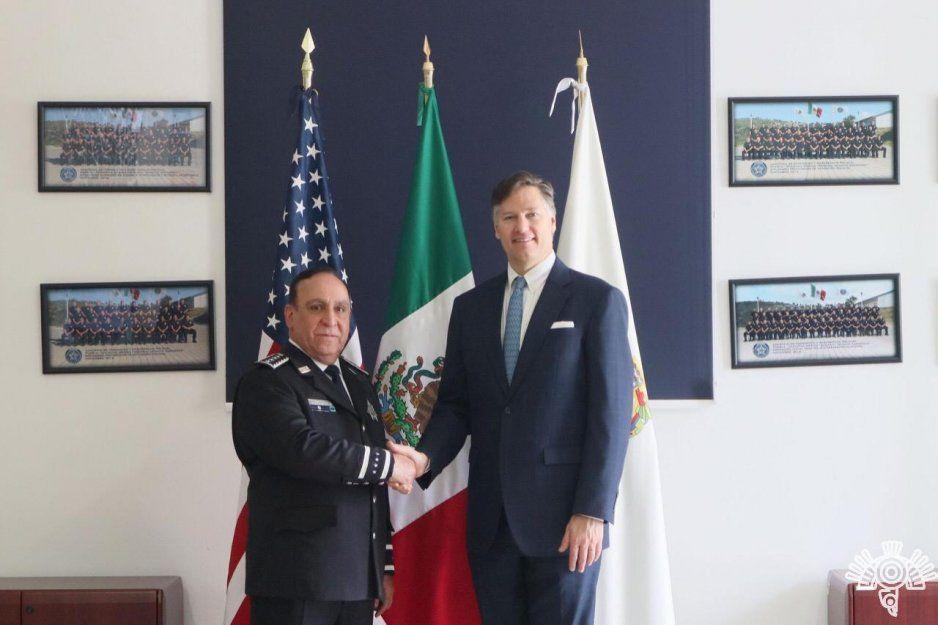 SSP estrecha lazos de cooperación con Estados Unidos en temas de seguridad