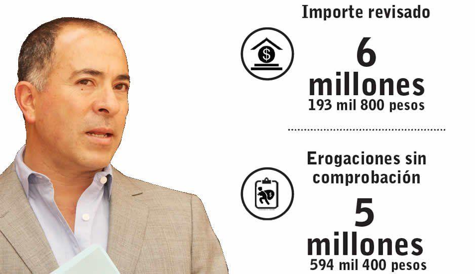 Valderrábano no justifica 5 millones 594 mil  400 pesos de su gestión en Xicotepec: ASF