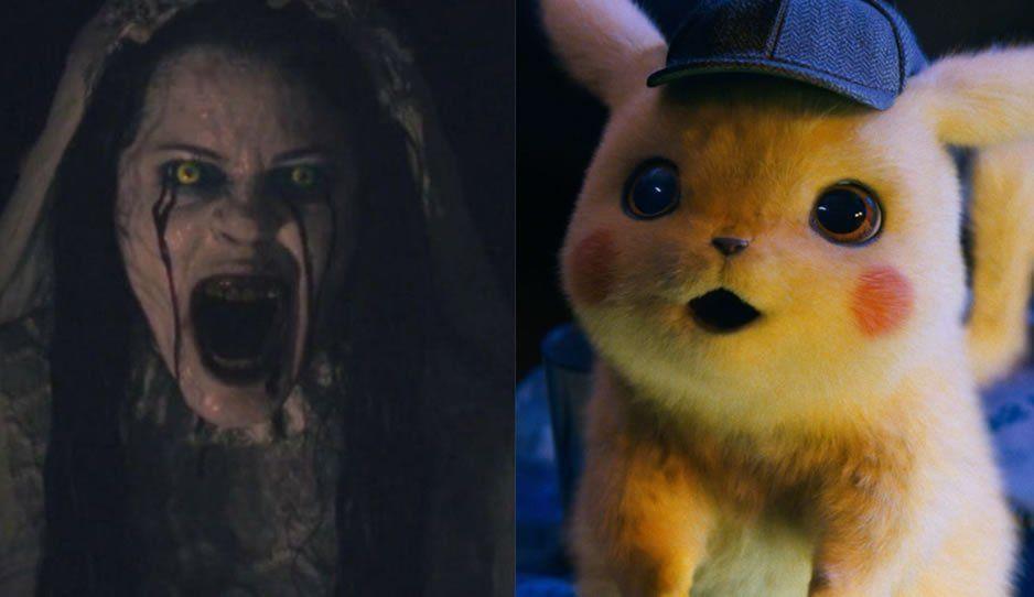 Cine se equivoca: proyecta La Llorona en vez de Detective Pikachu