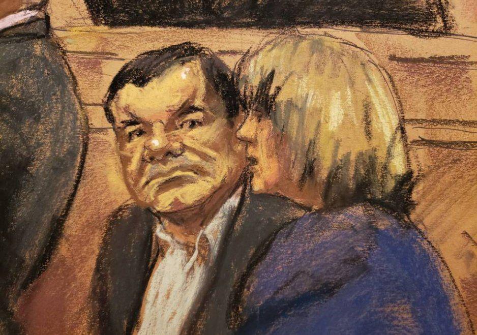 """¿Se habrá querido escapar? Se va la luz durante el juicio del """"Chapo"""""""